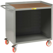 "Little Giant MCH-2436TL  36"" W Mobile Bench Cabinet, Hardboard Top"
