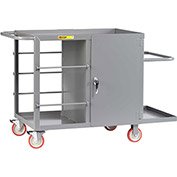 Little Giant® Wire Reel Cart with Cabinet