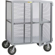 Little Giant® Job Site Security Box Truck with Center Shelf SC-2460-10SR, 24 x 60