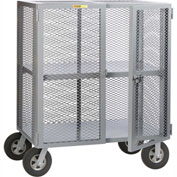 Little Giant® Job Site Security Box Truck with Adjustable Center Shelf SC-A-2448-10SR, 24 x 48