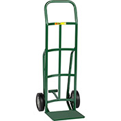 Little Giant® Reinforced Nose Hand Truck TF-200-8S - Rubber with Foot Kick & Continuous Handle