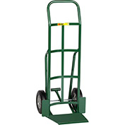 "Little Giant® Shovel Nose Hand Truck TF-360-10 - 10"" Rubber with Foot Kick & Continuous Handle"