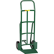 "Little Giant® Shovel Nose Hand Truck TF-360-8S - 8"" Rubber with Foot Kick & Continuous Handle"