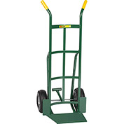 Little Giant® Shovel Nose Hand Truck TF-362-10P - Pneumatic with Foot Kick & Dual Handle