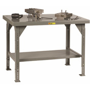 "Little Giant WW3072-ADJ Heavy-Duty Workbench, 30"" x 72"", Adjustable Height, 10,000 lbs. capacity"