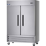 "Arctic Air AF49 - Reach In Freezer, 2 Door, White, 49 Cu. Ft., 54""W x 32-3/4""D x 82-3/4""H"