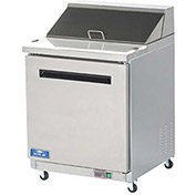 "Arctic Air AMT28R Sandwich/Salad Prep Table, 1 Door, White, 6.5 Cu. Ft., 29""W x 43-1/2""H"