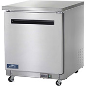 "Arctic Air AUC27F - Undercounter Freezer, 1 Door, White, 6.5 Cu. Ft., 28""W x 30""D x 35-3/4""H"
