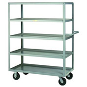 Little Giant® Multi-Shelf Truck 5ML-3060-6PH, 5 Lip Shelves, 30 x 60