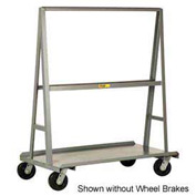"Little Giant® ""A"" Frame Sheet & Panel Truck AF2460-BK, 24 x 60 with Brake Wheels"