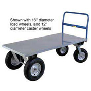 Little Giant® High Deck Cushion Load Platform Truck - B3048B - 30 x 48 - 1750 Lb. Capacity