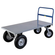 Little Giant® High Deck Cushion Load Platform Truck BB3060B - 30 x 60 - 2500 Lb. Capacity