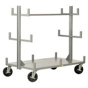 Little Giant® Portable Bar & Pipe Truck BRT-3660-8PHBK, 36 x 60