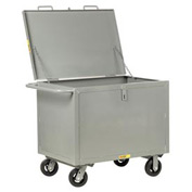 Little Giant® Box Truck with Hinged Lid BTSL2436-6MR, Solid Sides, 24 x 36