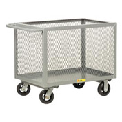 Little Giant® Box Truck BTX2436-6MR, Expanded Metal Sides, 24 x 36