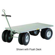 Little Giant® 8-Wheeler Wagon Truck CD-3060-16P-CR - Lip Edge - 30 x 60