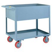 "Little Giant® Deep Shelf Truck DS1830X12-6PY, 12"" Deep, 18 x 30, 3600 Lb. Capacity"