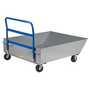 "Little Giant® Low Profile Hopper Truck HT-4857-6PH, 12"" Deep"