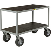 Little Giant® Mobile Instrument Table, Non-Slip Vinyl Surface, 24 x 48