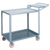 Little Giant® Order Picking Truck LGL-2448-WSBRK, Lip Shelves, 24 x 48