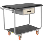 Little Giant® Instrument Cart w/Drawer, Polyurethane Wheels