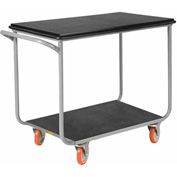 Little Giant® Mobile Instrument Cart, Tubular Frame 24x36 Polyurethane Whls