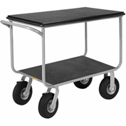 Little Giant® Mobile Instrument Cart Tubular Frame 24x36 Poly Locking Whls
