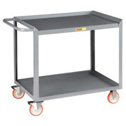 Little Giant® Mobile Workstation MW-2436-5TL, 2 Shelf, 24 x 36