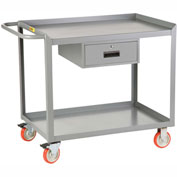 Little Giant® Mobile Workstation MW-2448-5TL-DR, 1 Drawer, 24 x 48