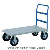 Little Giant® Heavy Duty Platform Truck NBB-3060-9P - 30 x 60 - Pneumatic Wheels - 1200 Lb.