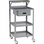 Little Giant® Mobile Shop Stand PSR-2436-3RBK-DR, 36 x 24