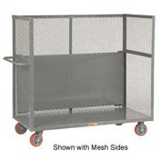 Little Giant® Drop-Shelf Truck S1-3060-6PY-DS, Slat Sides, 30 x 60