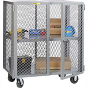 Little Giant® Mobile Storage Locker SCA-3048-6PH Adjustable Shelf 30x48 Phenolic Wheels