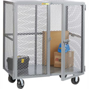 Little Giant® Mobile Storage Locker SCN-2448-6PH, 24 x 48, Phenolic Wheels