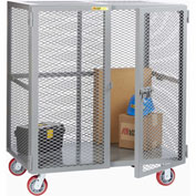 Little Giant® Mobile Storage Locker SCN-2448-6PPY, 24 x 48, Polyurethane Wheels