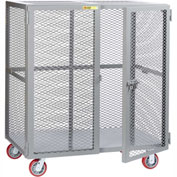 Little Giant® Mobile Storage Locker SCN-3672-6PPY, 36 x 72, Polyurethane Wheels