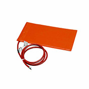 "BriskHeat® Silicone Rubber Heating Blanket SRL06121P Adhesive Back 6""Wx1'L 180W 120V"