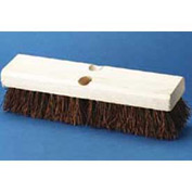 "10"" Hardwood Deck Brush Head W Palmyra Fiber Bristles - BWK3110 - Pkg Qty 12"