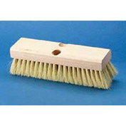 "10"" Hardwood Deck Brush Head W/ 2"" Tampico Bristles - BWK3210 - Pkg Qty 12"