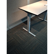 """Built Systems 48""""W x 30""""D Adjustable Height Table - White"""
