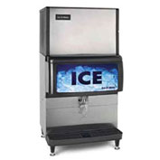 Ice Dispenser, Counter Model, Approximately 200 Lb Storage Capacity Cube And Pearl Ice