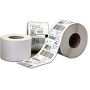 "COGNITIVE Paper Labels Direct Thermal 2.4"" x 1"" For Use With Blaster Del Sol and Solus Printers - Pkg Qty 12"