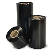 "Zebra 3200 Wax/Resin Ribbon 6-13/16""W x 1,476' L, 1"" Core, Black, Case of 6"