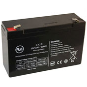 AJC® Sure-Lites HX 6V 12Ah Emergency Light Battery
