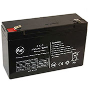 AJC®  B&B BP10-6 T2 6V 12Ah Sealed Lead Acid Battery