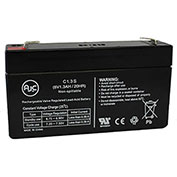 AJC®  Yuntong YT-612  Sealed Lead Acid - AGM - VRLA Battery