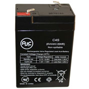 AJC® 6V 4.5Ah Sealed Lead Acid - AGM - VRLA Battery