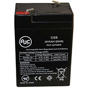 AJC® JohnLite 100 6V 5Ah Emergency Light Battery