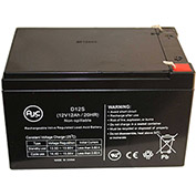 AJC® Universal Power Group UB12120ZH 12V 12Ah Lawn and Garden Battery