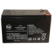 AJC® Power Patrol SEC1075 12V 7Ah UPS Battery